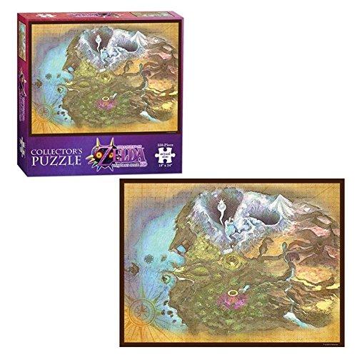 Toy - Puzzle - The Legend of Zelda Majoras Mask - Termina Map Nintendo