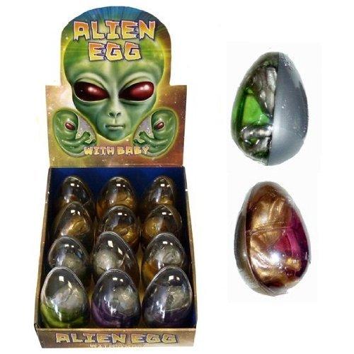 Henbrandt 12 X Giant Hatching Alien Gel Bouncing Putty Egg Wholesale Bulk Buy