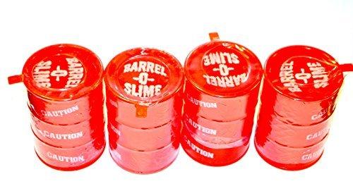 Barrel-O-Slime 4 Pack Red Slime - 5 ounce each