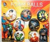Batman Superman Justice League DC Superhero Figure Soft Foam Ball Toys Collection of 12