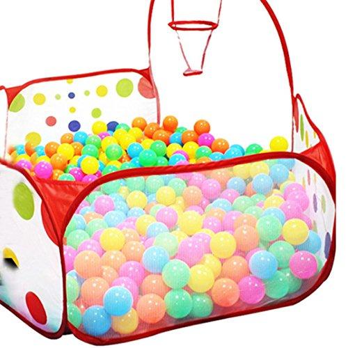 NOMENI Pop up Hexagon Polka Dot Children Ball Play Pool Tent Carry Tote Toy