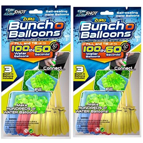 Zuru Bunch O Balloons TWIN pack 200 Water Balloons total