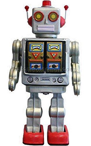 Alexander Taron ME100 Collectible Tin Toy - Battery-operated Robot