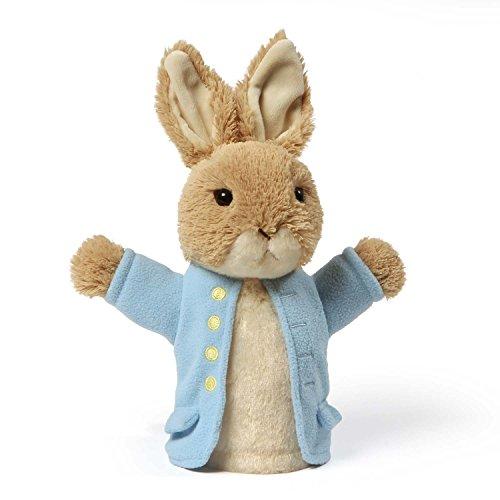 GUND Classic Beatrix Potter Peter Rabbit Stuffed Animal Plush Hand Puppet 85