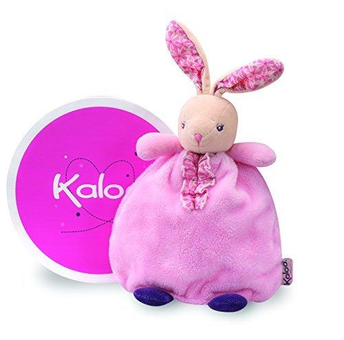 Kaloo Petite Rose Doudou Girly Rabbit Puppet by Kaloo