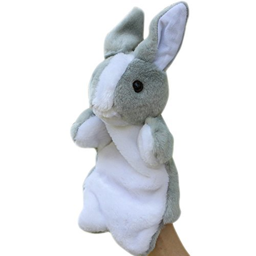 Luoke Plush Stuffed Super Soft Rabbit Zoo Animals Gift Hare Toy Children Doll Birthday Gift Rabbit Hand Puppet30cm118 Color 1