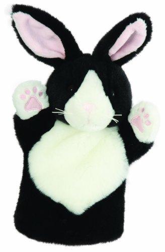 The Puppet Company - CarPets Glove Puppets - Rabbit Black White