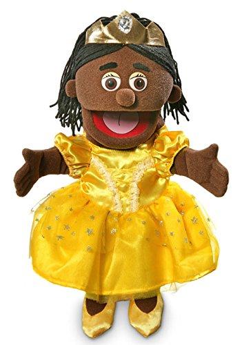 14 Princess Black Girl Hand Puppet