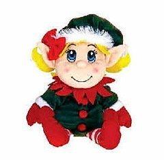 Santas Secret Elf Girl Hand Puppet 11 by Fiesta by Fiesta Toys