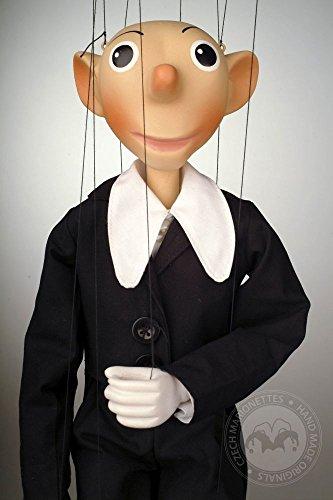 Spejbl Small - Czech Marionette - Handmade String Puppet