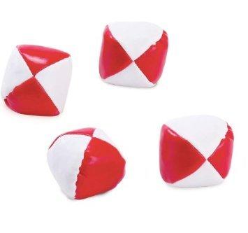 24 2 PATRIOTIC Red White Kickballs ~