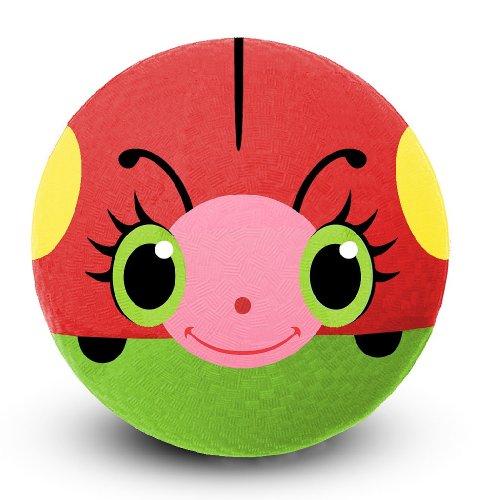 Melissa Doug Sunny Patch Bollie Ladybug Classic Rubber Kickball