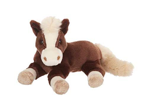 Wildlife Tree 11 Inch Brown Horse Stuffed Animal Floppy Pony Plush