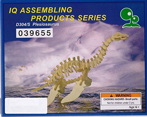 Plesiosaurus 3D Wooden Puzzle