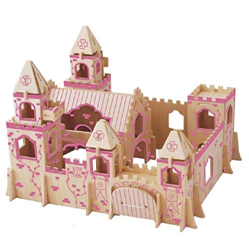Smilelove 3D Wooden Puzzle--Princess Castle A Jigsaw Puzzle