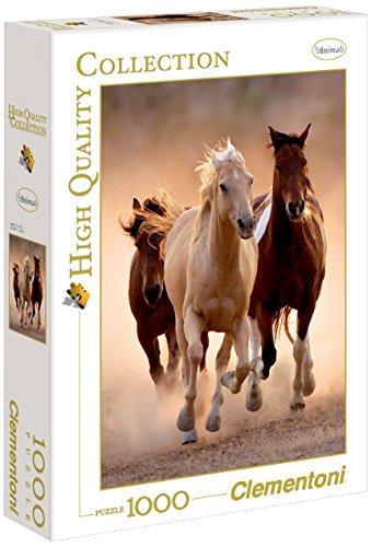 Clementoni Running Horses Puzzle 1000-Piece