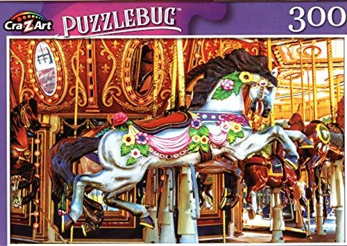 LPF Antique Carousel Merry Go Round Horse - 300 Pieces Jigsaw Puzzle