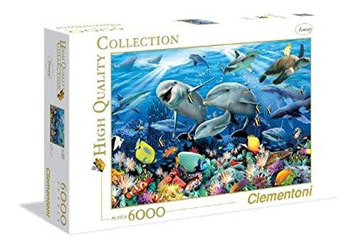 Clementoni H Robinson Underwater Puzzle 6000-Piece