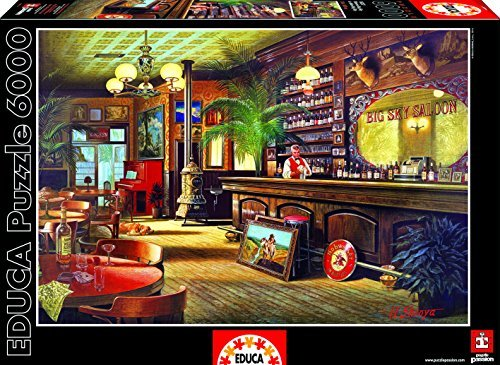 Educa 16357Jigsaw Puzzle 6000Pieces-Big Sky Brew House by Educa