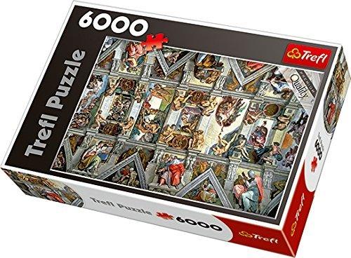 Trefl 65000 Sistine Chapel CeilingRome Puzzle 6000-Piece by Trefl