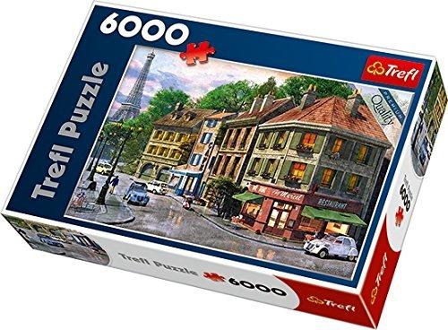 Trefl Paris Street Jigsaw Puzzle 6000 Piece by Trefl