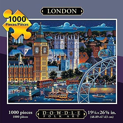 Dowdle Folk Art 1000 Piece Puzzle London by Dowdle Folk Art