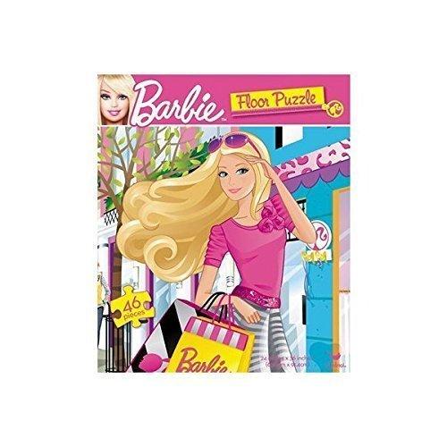 Barbie Floor Puzzle  46 Pieces 24 X 36