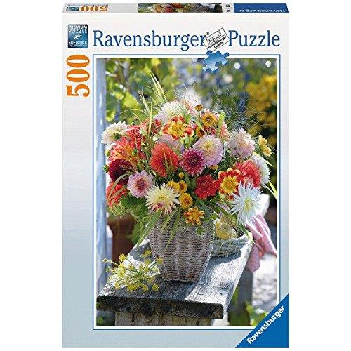 Ravensburger Beautiful Flowers Puzzle 500-Piece