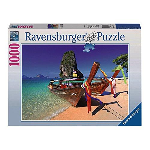 Ravensburger Caribbean Boats Puzzle 1000-Piece