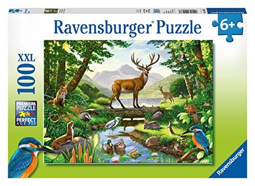 Ravensburger Woodland Harmony Puzzle 100 Piece