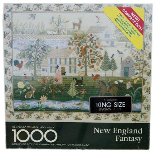 Springbok New England Fantasy 1000 Piece Puzzle