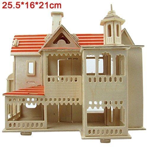 3D Puzzle 3D Wood Puzzle 3D Jigsaw Puzzle Happy House