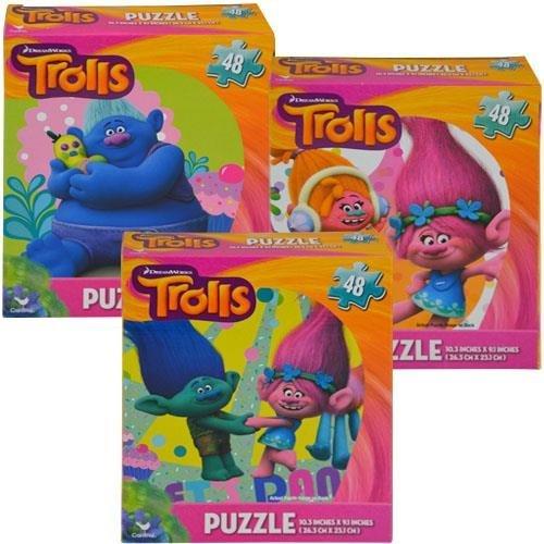 Trolls 48pc Puzzle 3 Asstd