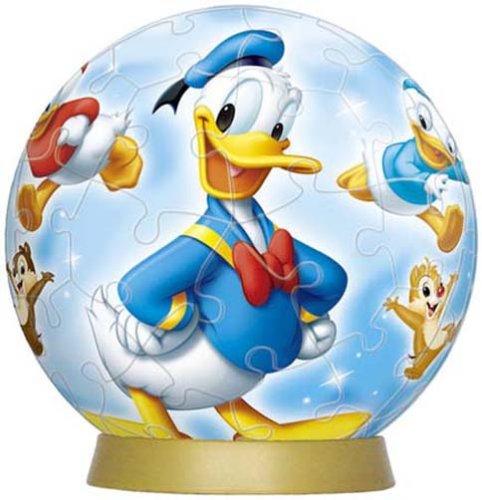 3D sphere puzzle 60 piece Disney Donald u0026 rival  diameter of about 76cm