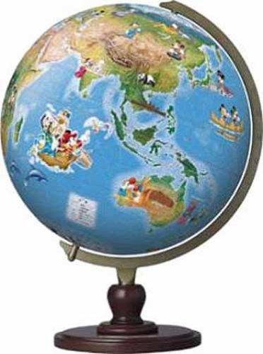3D sphere puzzle Disney 960 piece Fantastic Globe World Heritage Site diameter of about 305cm japan import