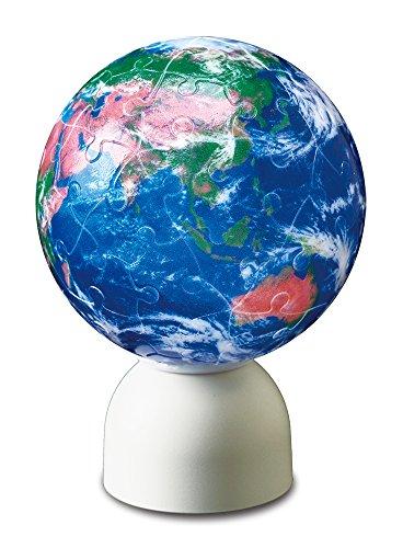 60 piece Puzzle lantern Pazurantan 3D sphere puzzle Globe Earth