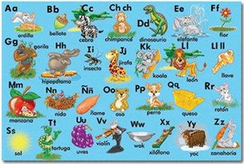 Bilingual Alphabet Floor Puzzle