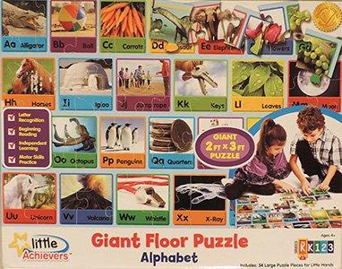Giant Alphabet Floor Puzzle 54 Pieces 2 x 3
