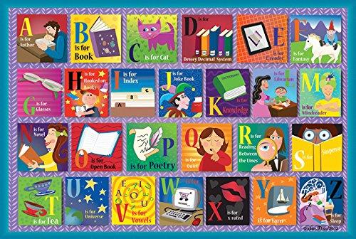 SunsOut Reading Alphabet Floor Puzzle 48-Piece