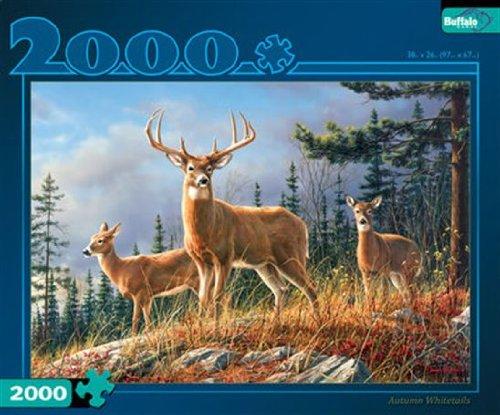 Autumn Whitetails 2000 Piece Puzzle Artist - Hautman