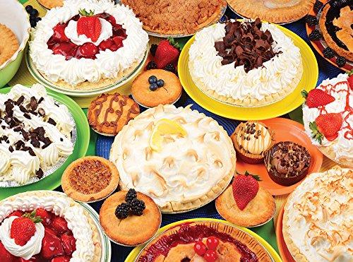Creamy Dreamy Pies 2000 Piece Puzzle