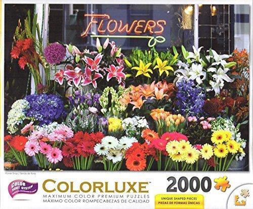 Flower Shop 2000 Piece Puzzle