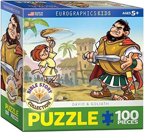 EuroGraphics David and Goliath 100-Piece Puzzle