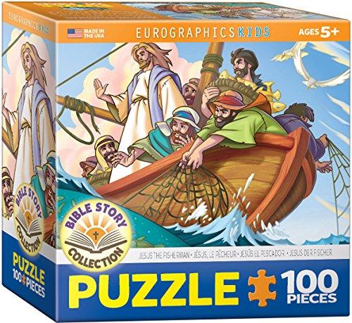 EuroGraphics Jesus the Fisherman 100-Piece Puzzle