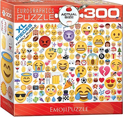 EuroGraphics Emoji 300 Piece Puzzle