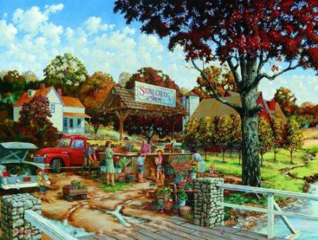 Stone Creek Farm - A 300 Piece Jigsaw Puzzle by SunsOut