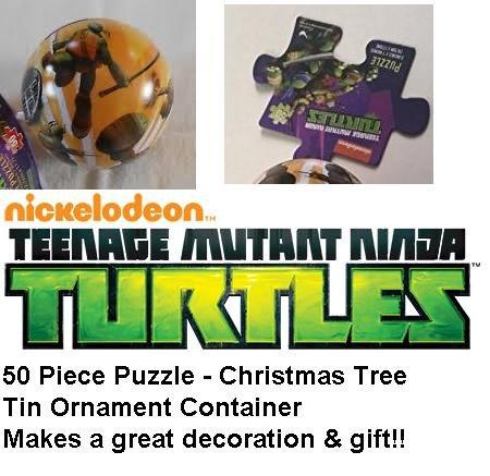 Teenage Mutant Ninja Turtles 50 piece puzzle and ornament