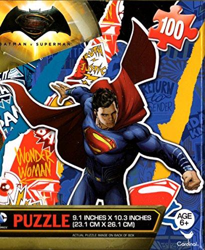 Batman VS Superman the Movie 100pc Wonder WomanBatmanSuperman Puzzle