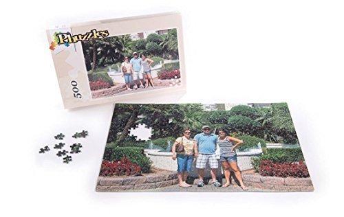 Phuzzles - X-Large 500 Piece Custom Photo Jigsaw Puzzle 125 x 19