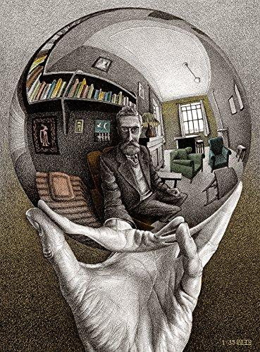 Buffalo Games Self Portrait By MC Escher Jigsaw Puzzle 1000 Pieces
